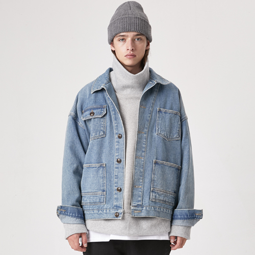 [테이크이지]VINTAGE DENIM JACKET