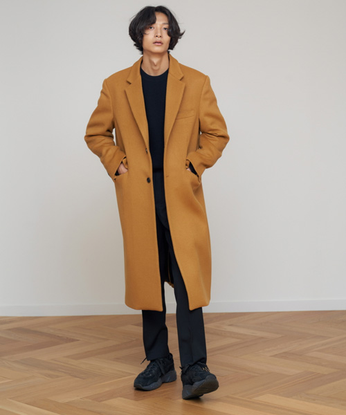[에스티유]2 Button single coat camel