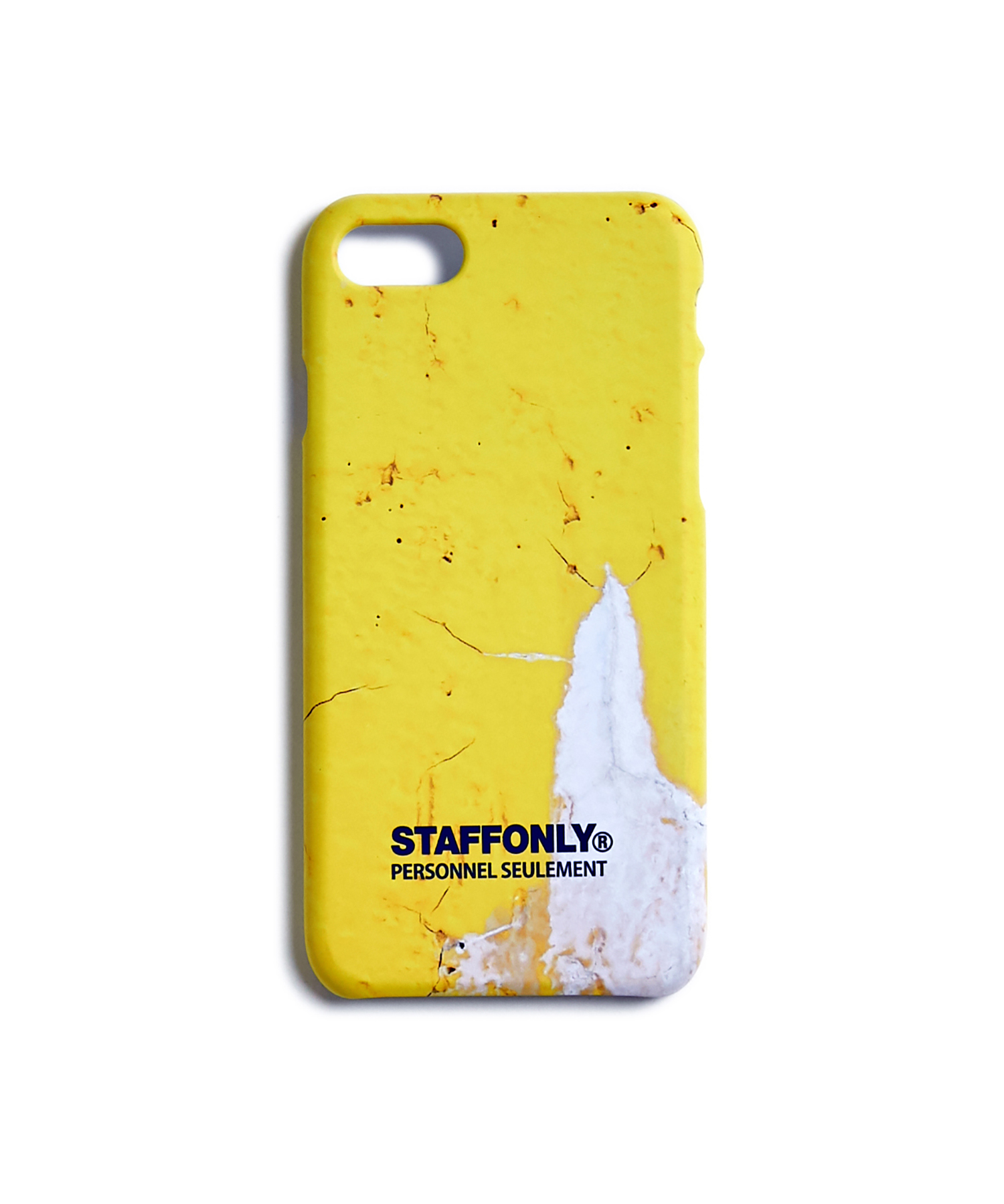 [스텝온리]CONCRETE PHONE CASE (YELLOW)