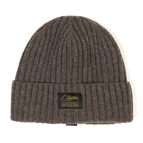[스티그마]STIGMA LABEL WOOL BEANIE BEIGE