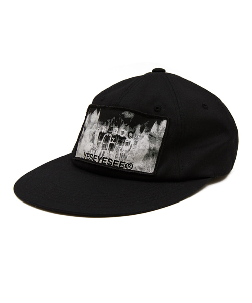 [예스아이씨]NIGHTMARE PATCHED CAP BLACK