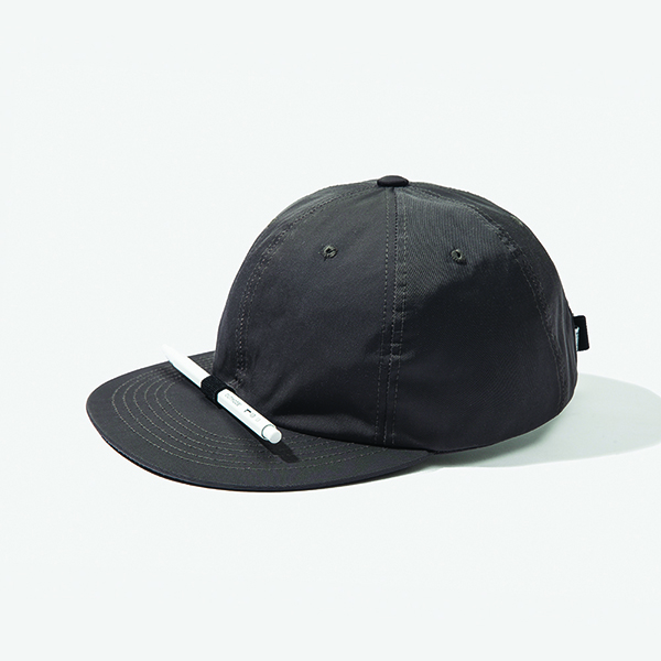 [아웃모드] POLY COTTON PENCIL CAP - CHARCOAL GREY
