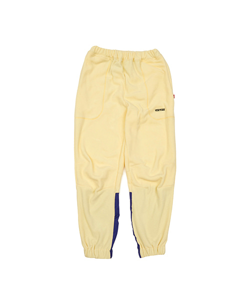 [예스아이씨]FLEECE JOGGER PANTS YELLOW