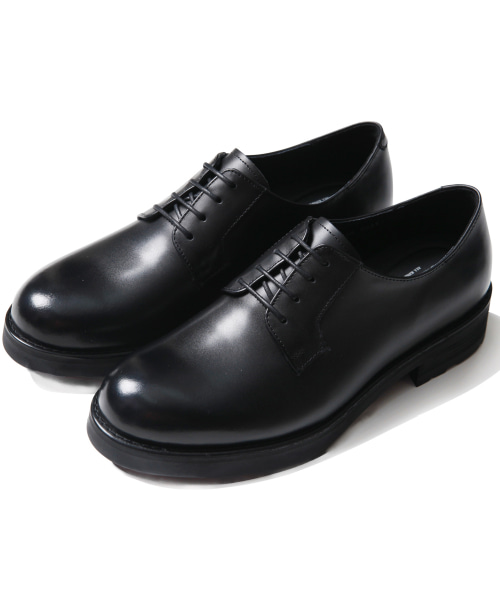 [모디파이드]M#1672 cowhide black derby shoes (1cm 키높이)