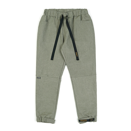 [스티그마]STIGMA STGM OXFORD WIDE JOGGER PANTS OLIVE