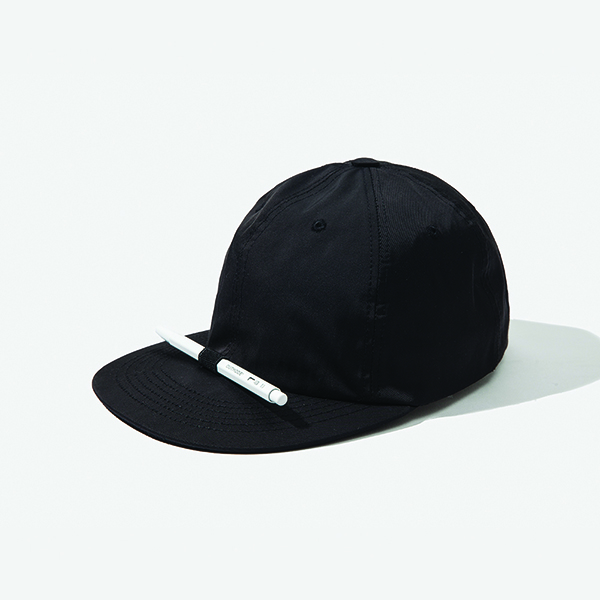 [아웃모드] POLY COTTON PENCIL CAP - BLACK