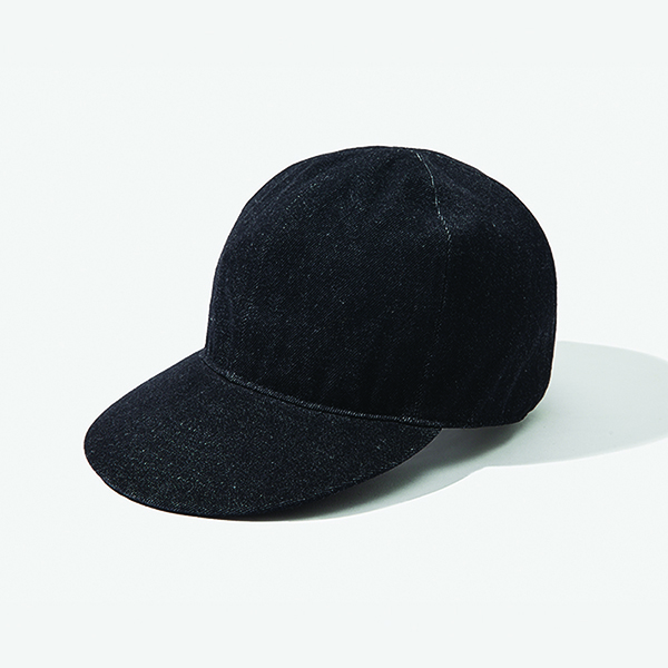 [아웃모드] A-3 MECHANIC CAP - BLACK DENIM