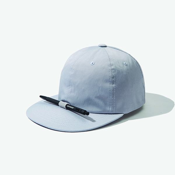 [아웃모드] POLY COTTON PENCIL CAP - LIGHT GREY