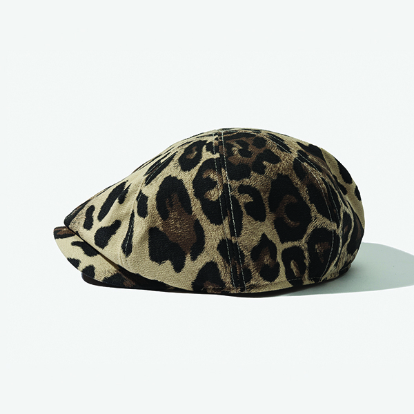[아웃모드] COTTON HUNTING CAP - LEOPARD
