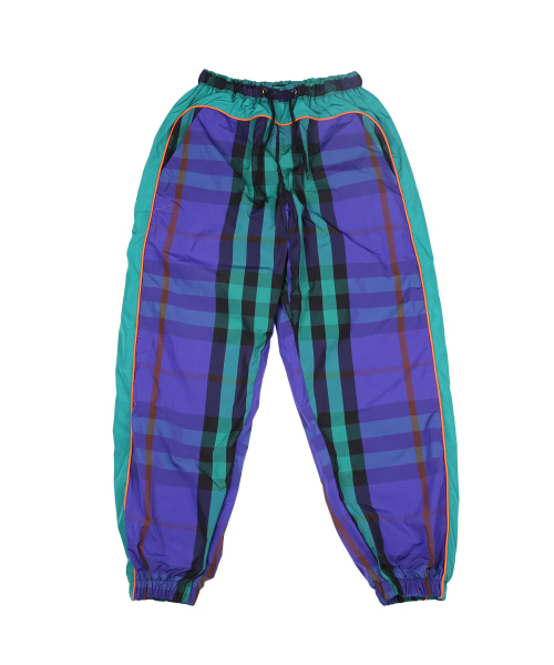[아조바이아조]Check Track Jogger Pants [Purple]