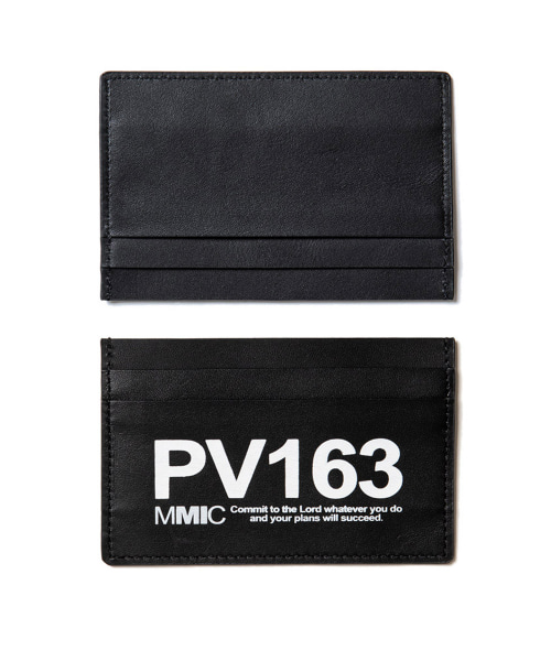 [엠엠아이씨]REAL LEATHER CARD HOLDER (PV163)-[AC-002]