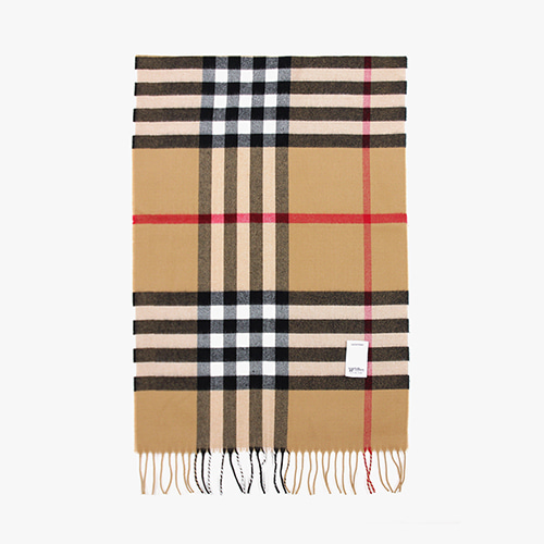 [피스메이커]WIDE CHECK MUFFLER (BEIGE)
