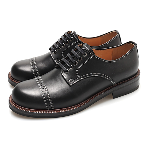 [블랙하인드]Captoe Work Derby Shoes