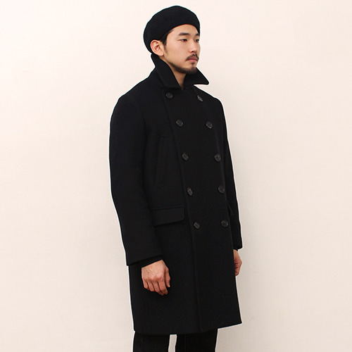 [블랙하인드]Double Coat -Black-