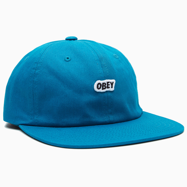[오베이]SLEEPER 6 PANEL STRAPBACK - PURE TEAL 캡