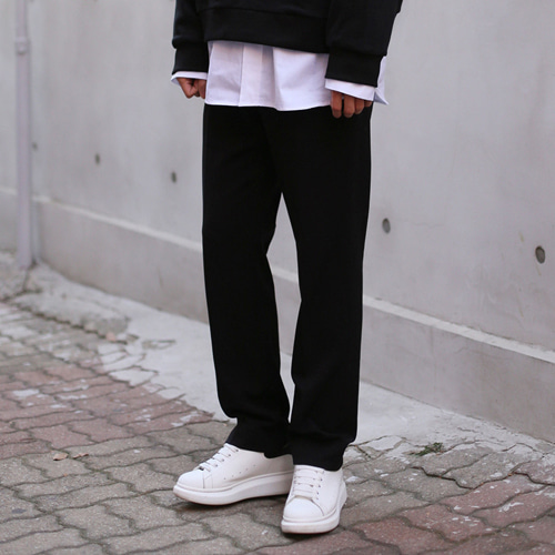 [패티즘]FTSHM SEMI WIDE FIT SLACKS [2COLOR]