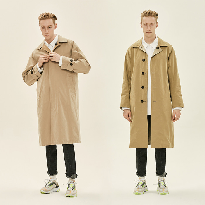 [데드엔드] BEIGE REVERSIBLE MAC COAT