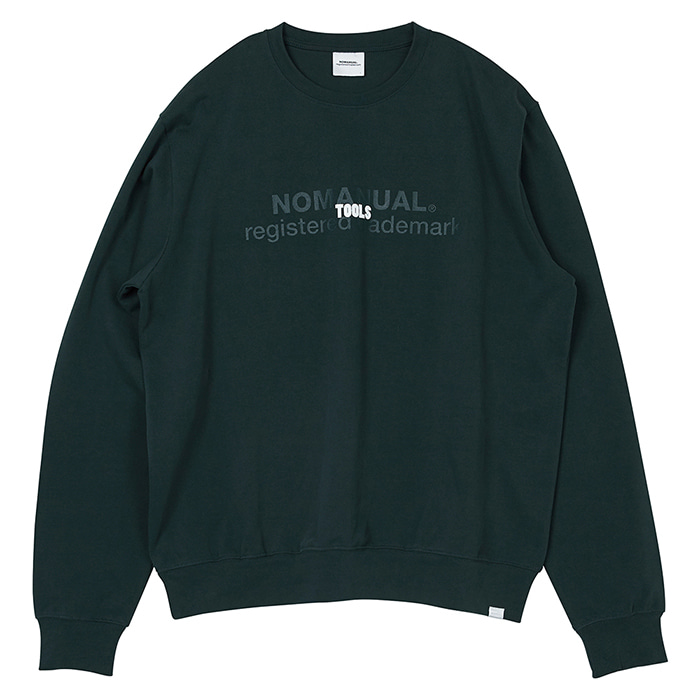 [노매뉴얼] TOOLS LONG SLEEVE TEE - VIRIDIAN