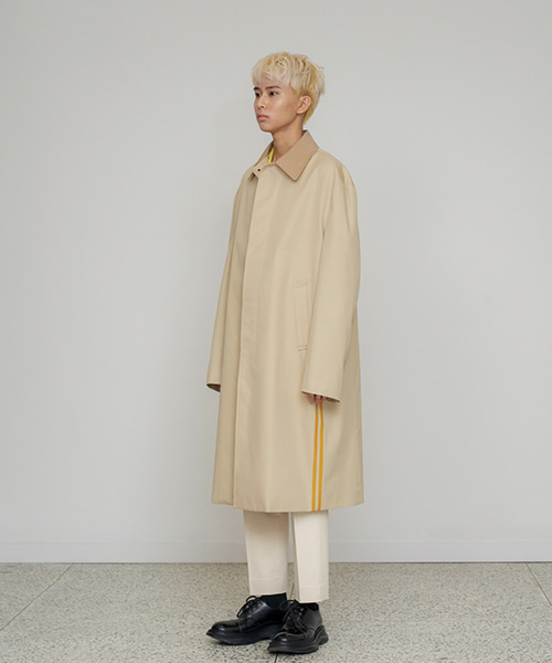 [에스티유] Side line mac coat ivory