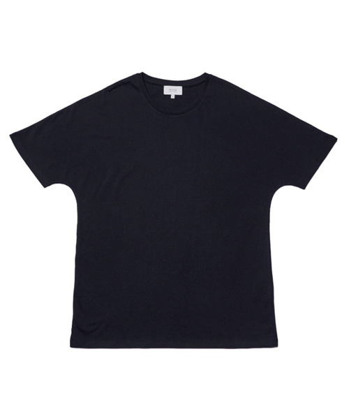 [뮤트커먼센스]incision t-shirt (Black)