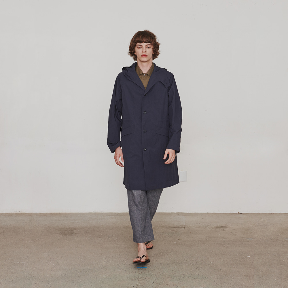 [에스파이] Hylon OverCoat (Navy)