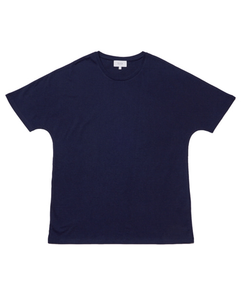 [뮤트커먼센스]incision t-shirt (Navy)