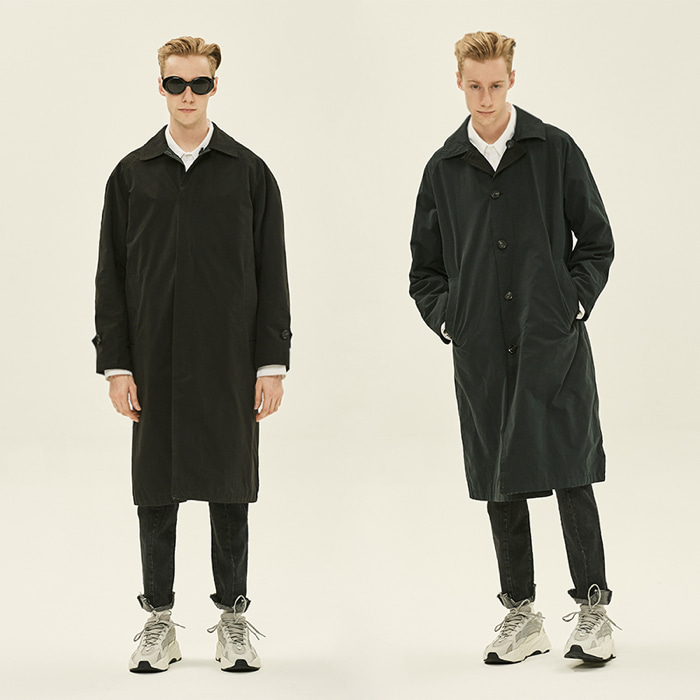 [데드엔드] BLACK REVERSIBLE MAC COAT