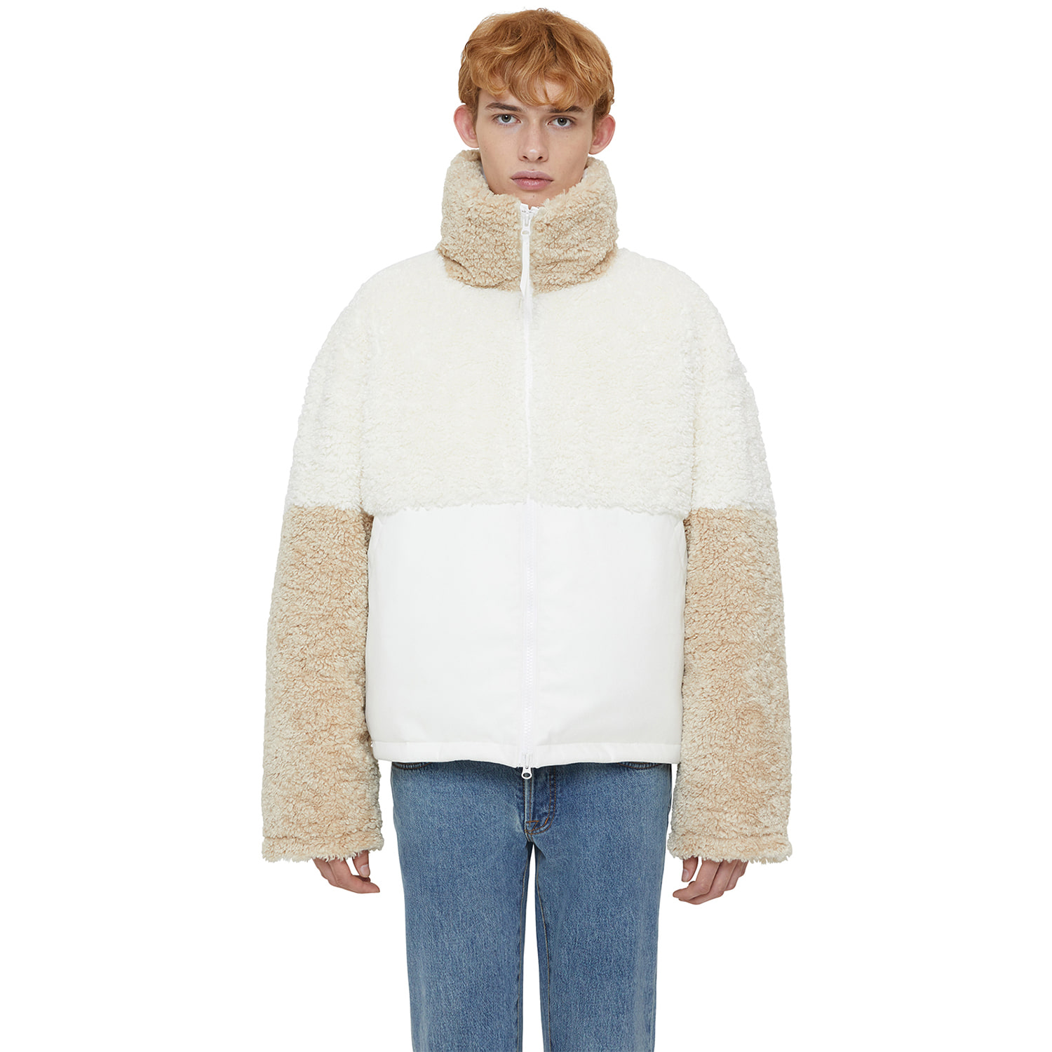 [랩 101]NOMAD SHEARING REVERSIBLE JUMPER