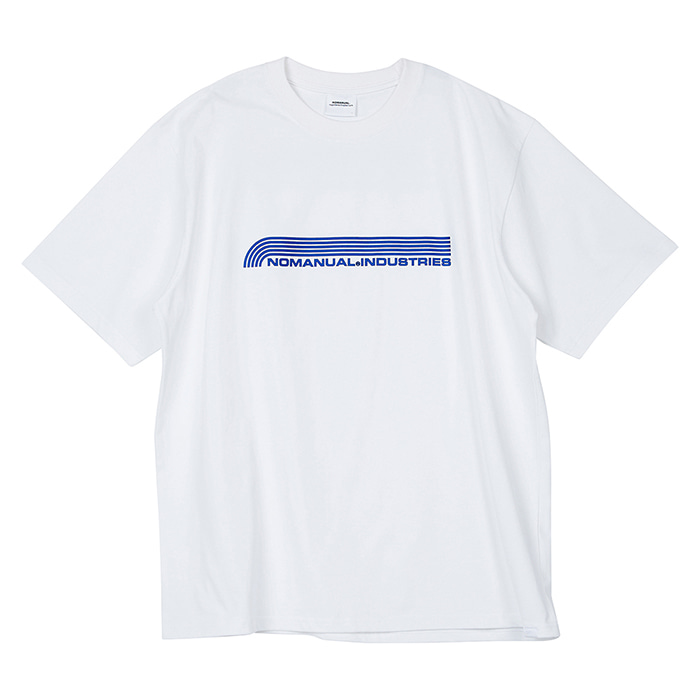 [노매뉴얼]NM INDUSTRIES T-SHIRT - WHITE