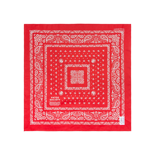 [스티그마]STIGMA VATOS BANDANA RED