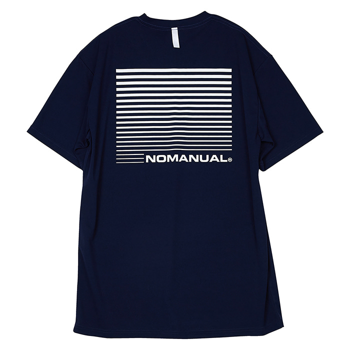 [노매뉴얼] NM SPORT T-SHIRT - NAVY