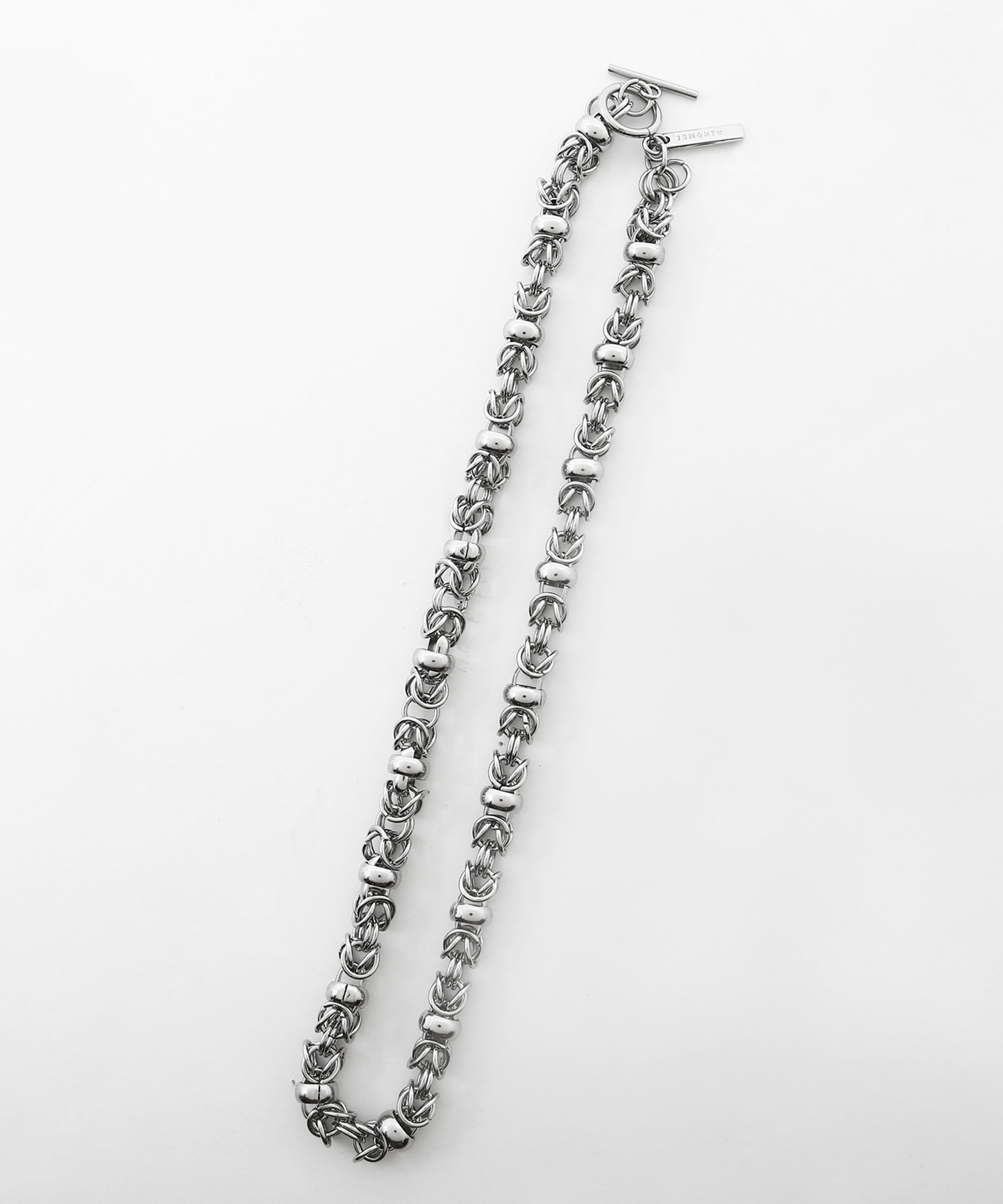 [써틴먼스] RING CHAIN NECKLACE (SILVER)