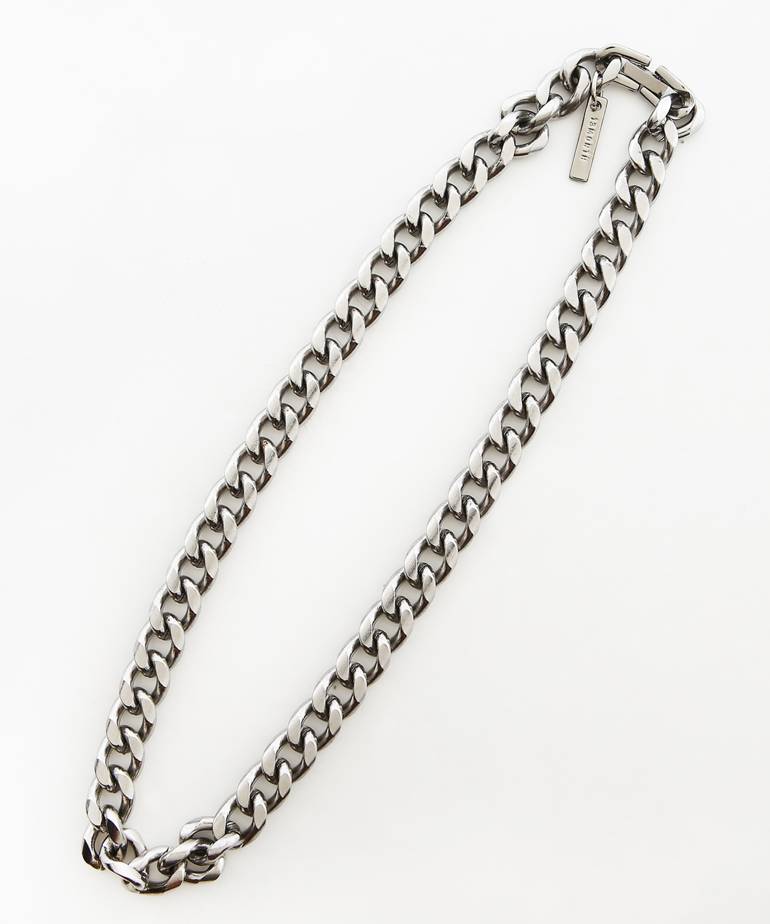[써틴먼스] HEAVY CHAIN NECKLACE (SILVER)
