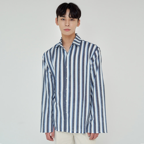 [트립르센스] TLS STRIPE SHIRTS 1926 BLUE