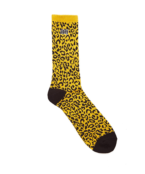 [오베이] LEO SOCKS- ENERGY YELLOW