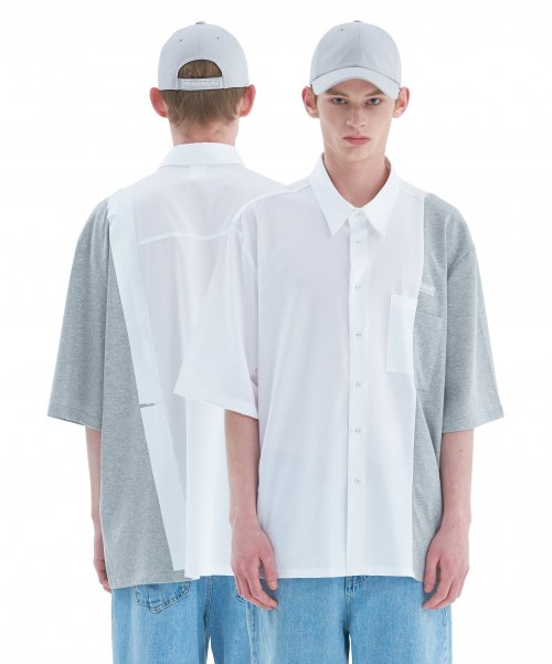 [에드] BOX TAPE SHIRT B WHITE