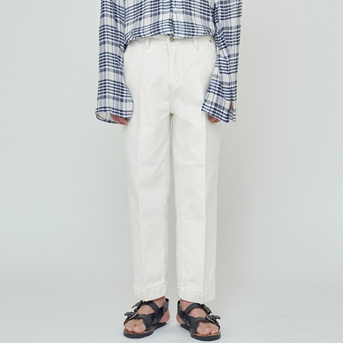 [트립르센스] ECRU CREAM WIDE PANTS CREAM
