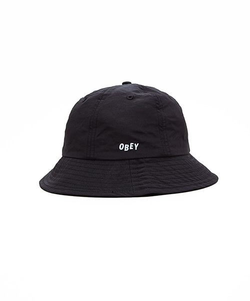 [오베이] FREDERICK BUCKET HAT - BLACK