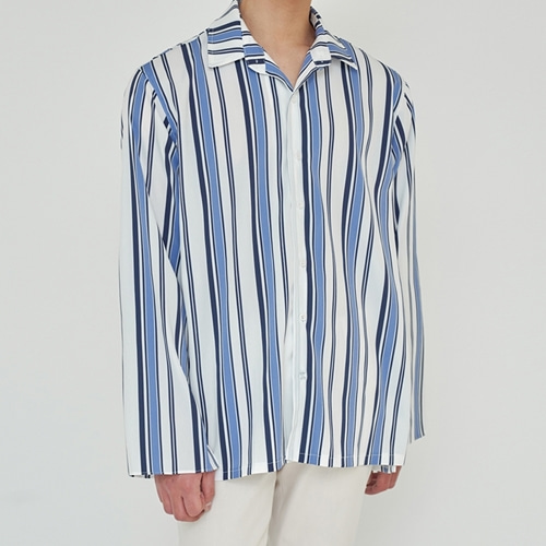 [트립르센스] TLS STRIPE SHIRTS 1924 BLUE