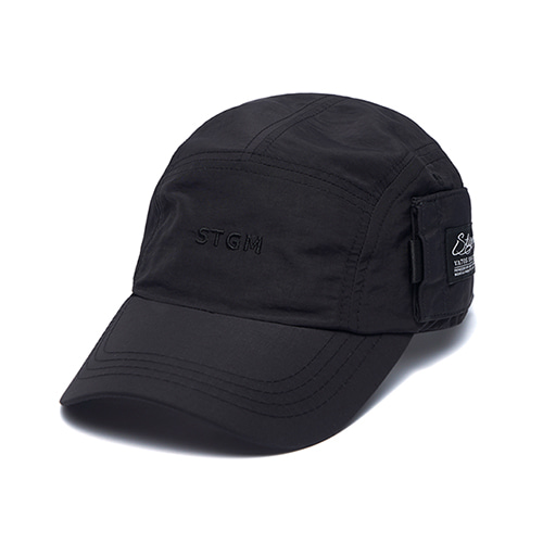 [스티그마]STIGMA STGM POCKET CAMP CAP BLACK