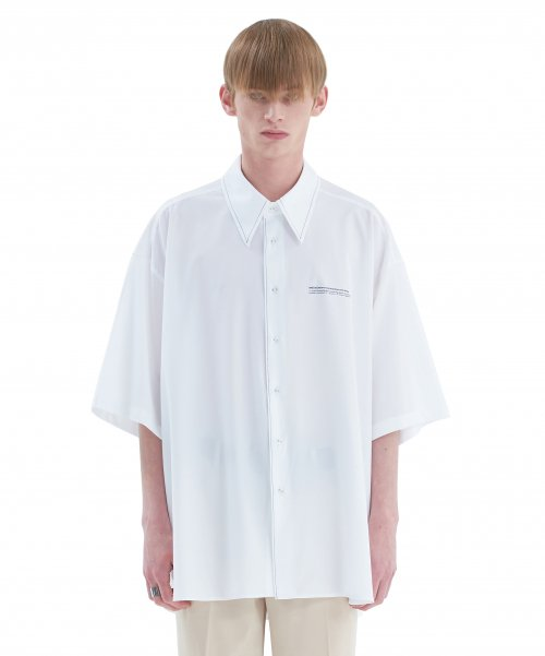 [에드] STITCH AVANTGARDE SHIRT WHITE