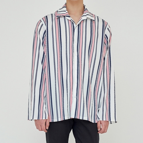 [트립르센스] TLS STRIPE SHIRTS 1925 PINK