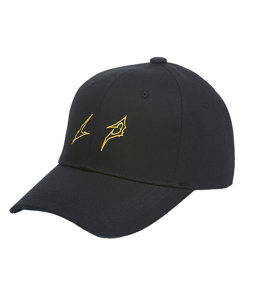 [루오에스펙] LP logo cap (black)