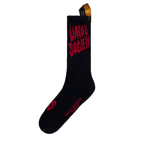 [스티그마]STIGMA BURN SKATE SOCKS BLACK