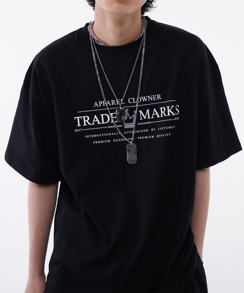[에이클라운] ACL Trade Logo Half-Tee BLACK