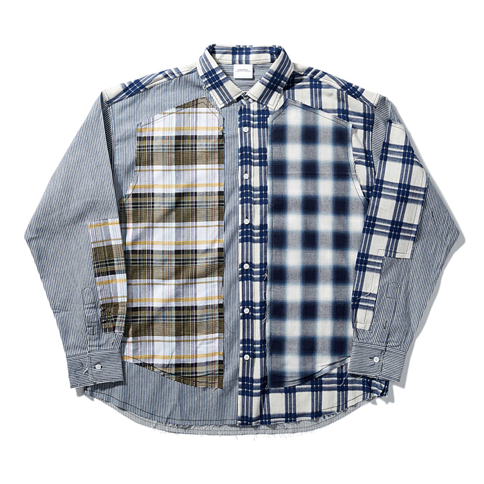 [노매뉴얼] ROUGH CHECK SHIRT - TYPE I