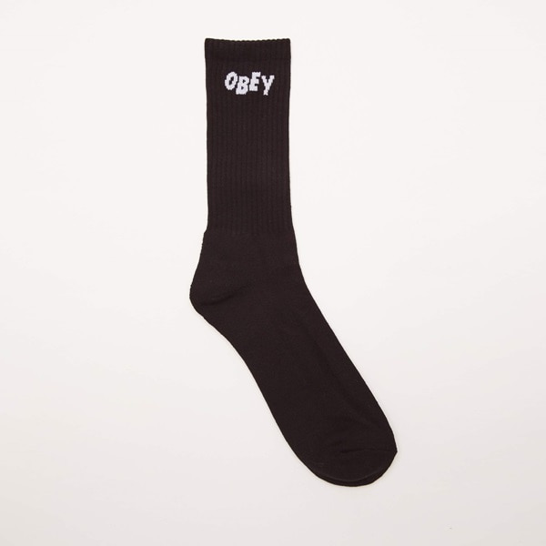 [오베이] OBEY JUMBLED SOCKS - BLACK