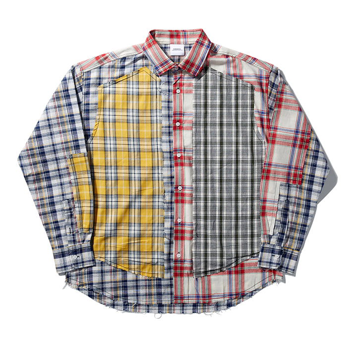 [노매뉴얼] ROUGH CHECK SHIRT - TYPE II