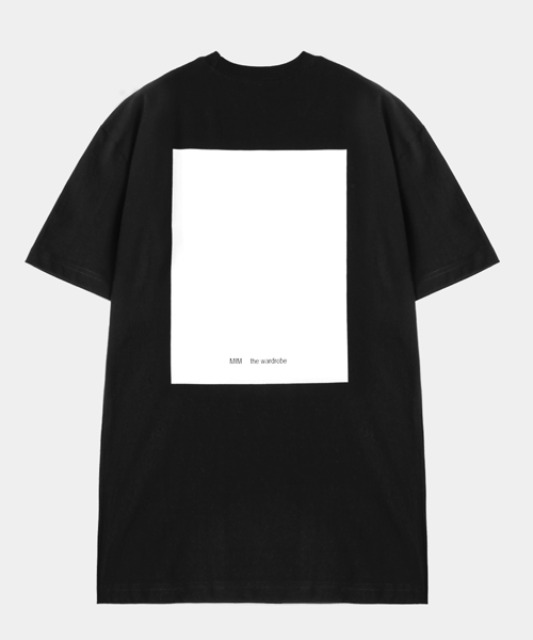 [밈더워드로브] THE WARDROBE Signature T-Shirt Black