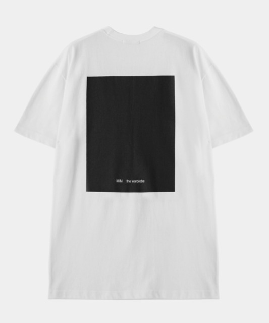 [밈더워드로브] THE WARDROBE Signature T-Shirt White